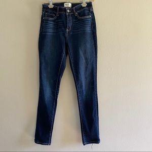 BKE gabby skinny jeans size 25 x 31.5